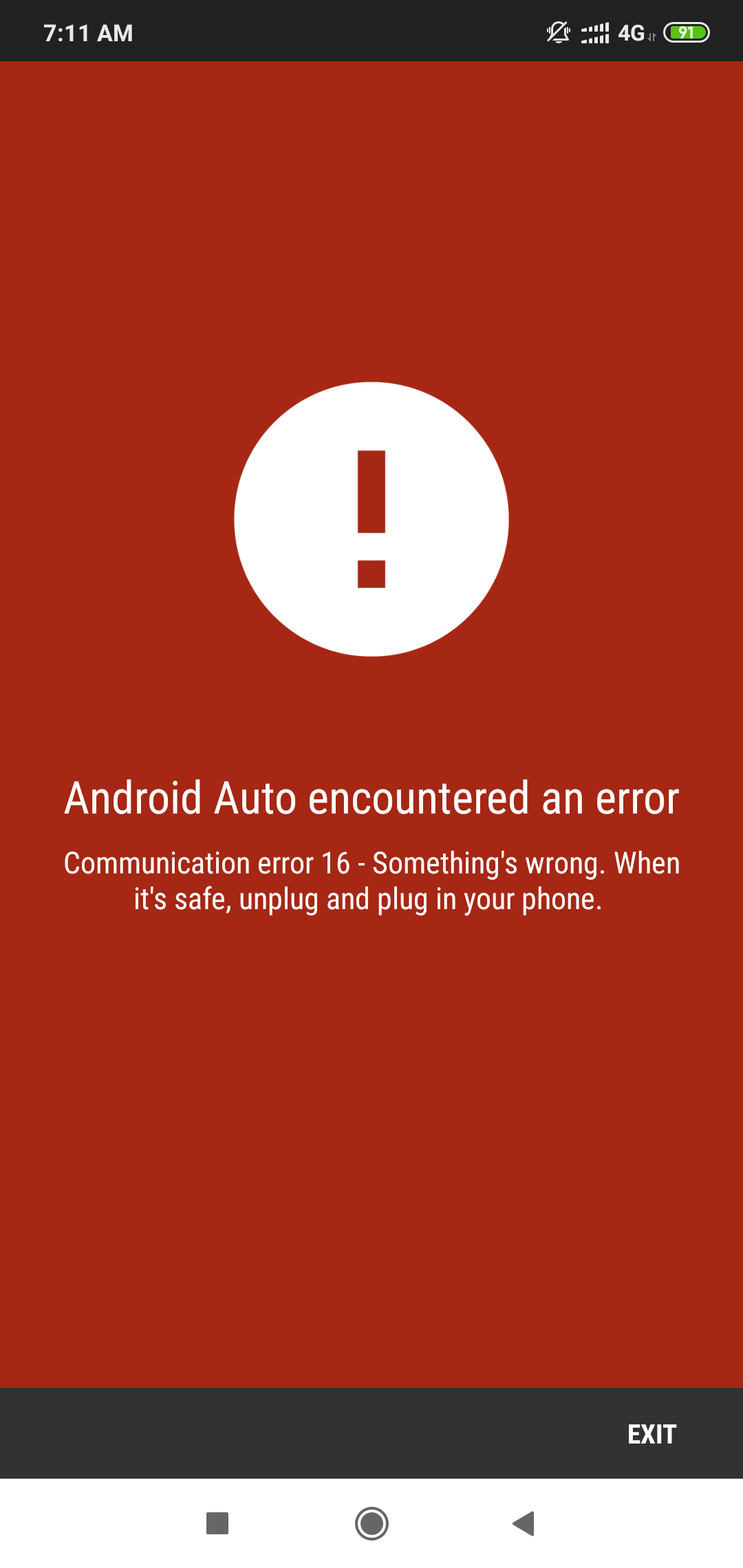 Android Auto not working with what's app and other dual Apps in