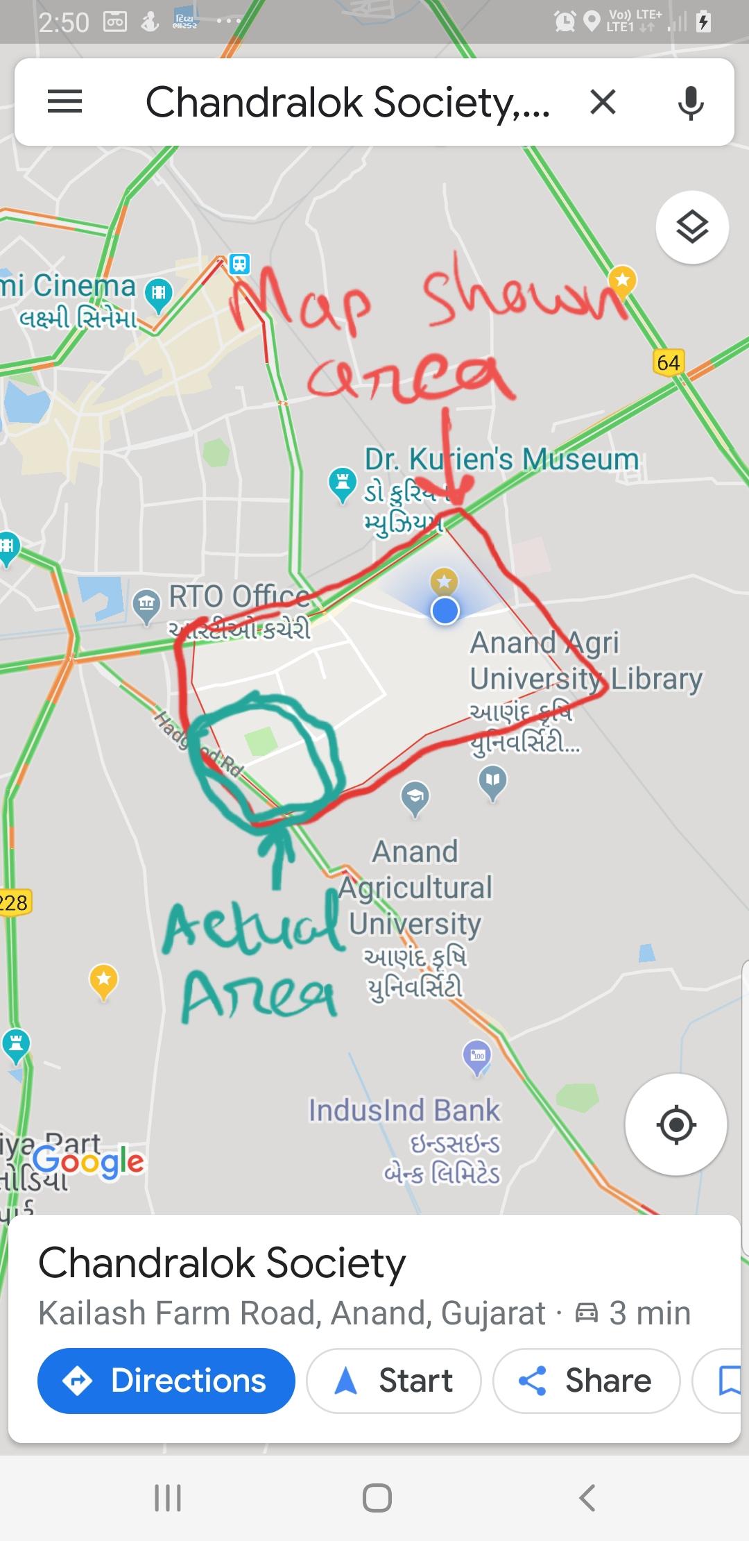 Area map modify or edit - Google Maps Help  Google Maps on