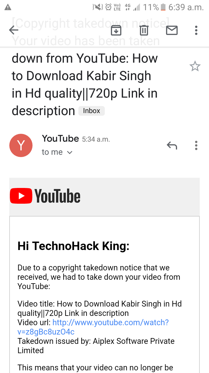 Copyright I have uploaded a video that is how to download
