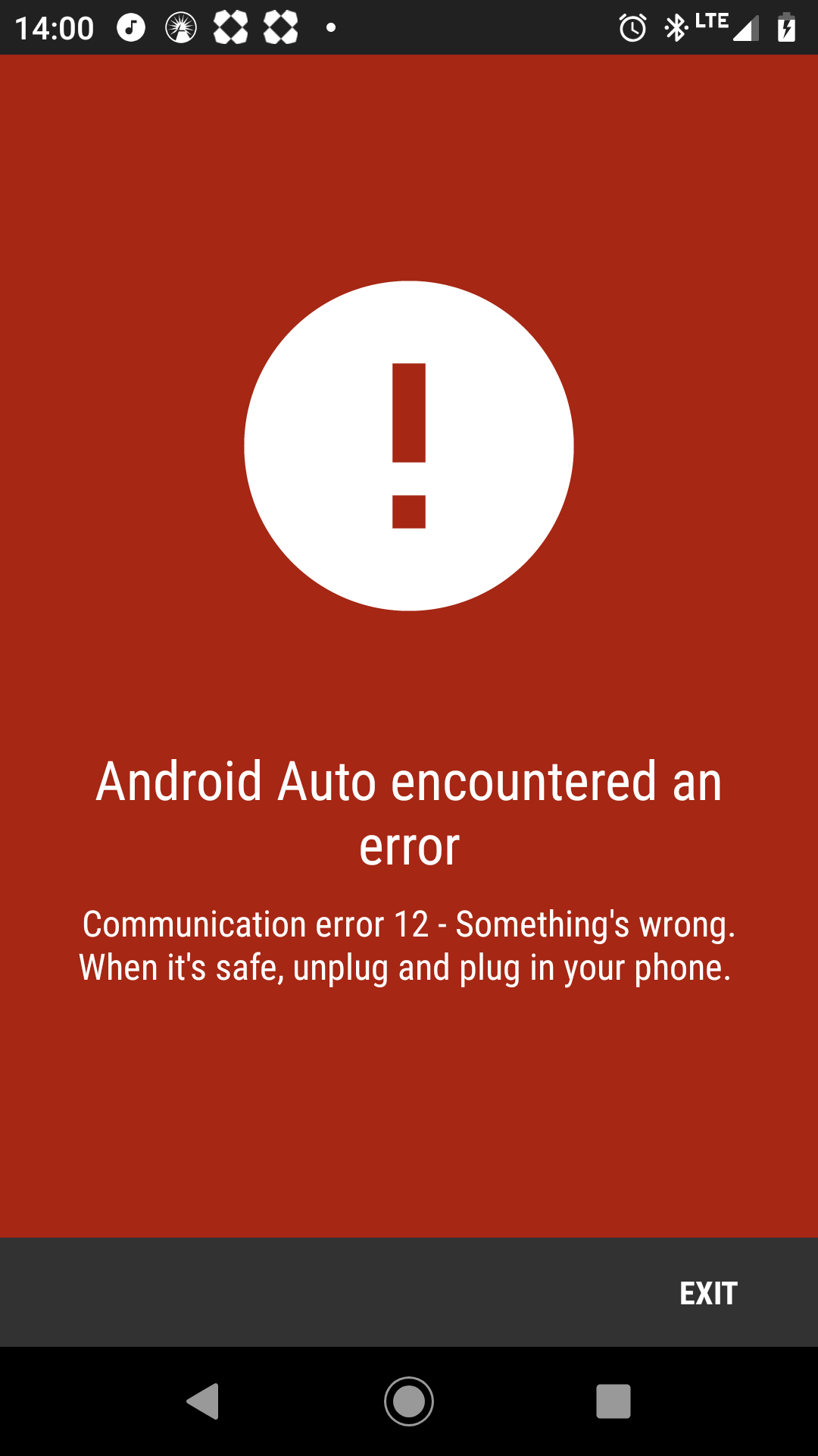 Keeps disconnecting randomly on VW vehicules - Android Auto Help