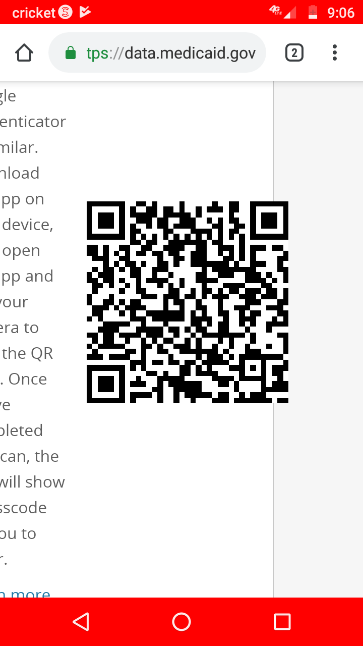 Need Google generator to scan a QR code I'm trying to scan