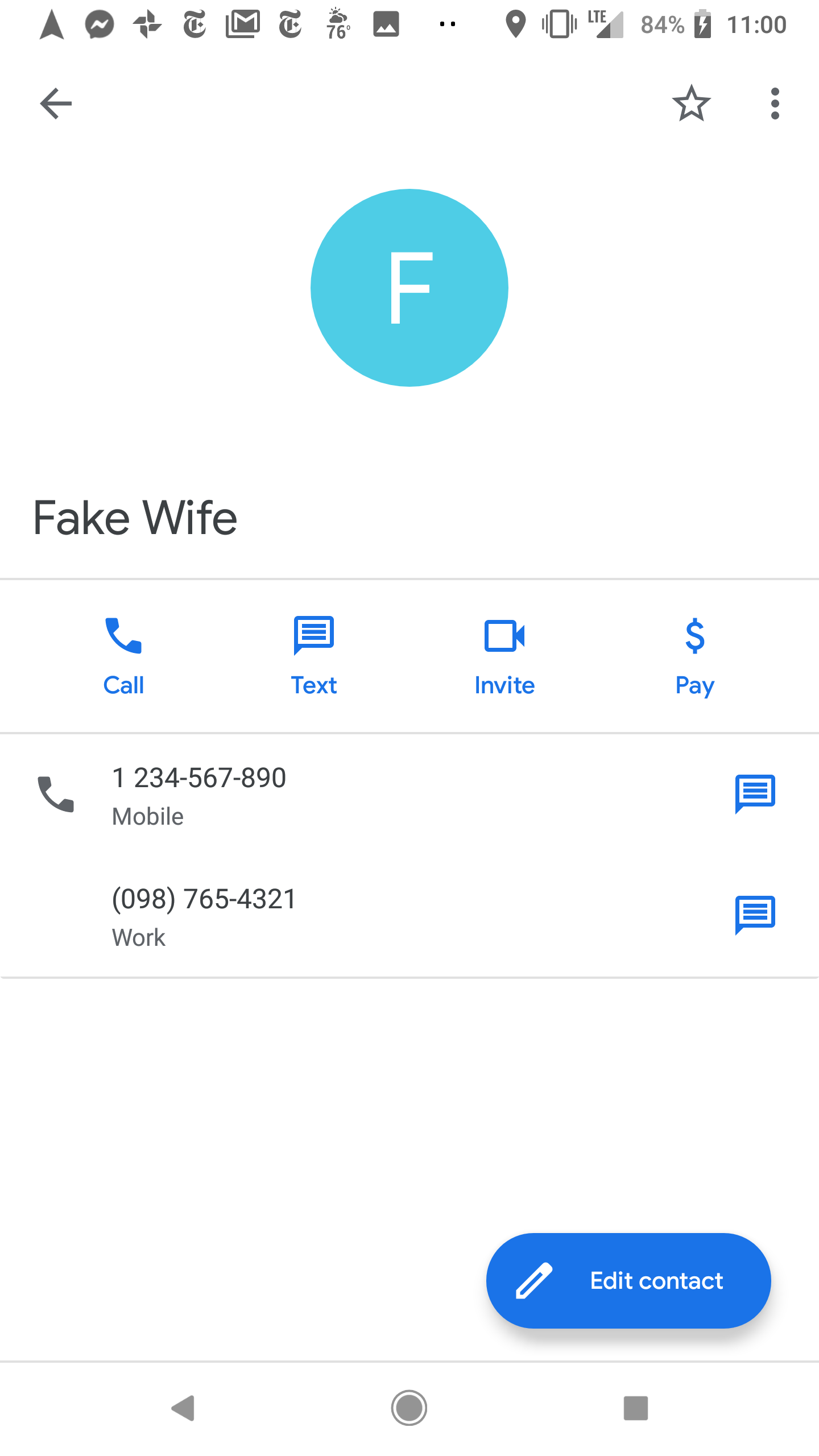Delete individual number from contact - Pixel Phone Help