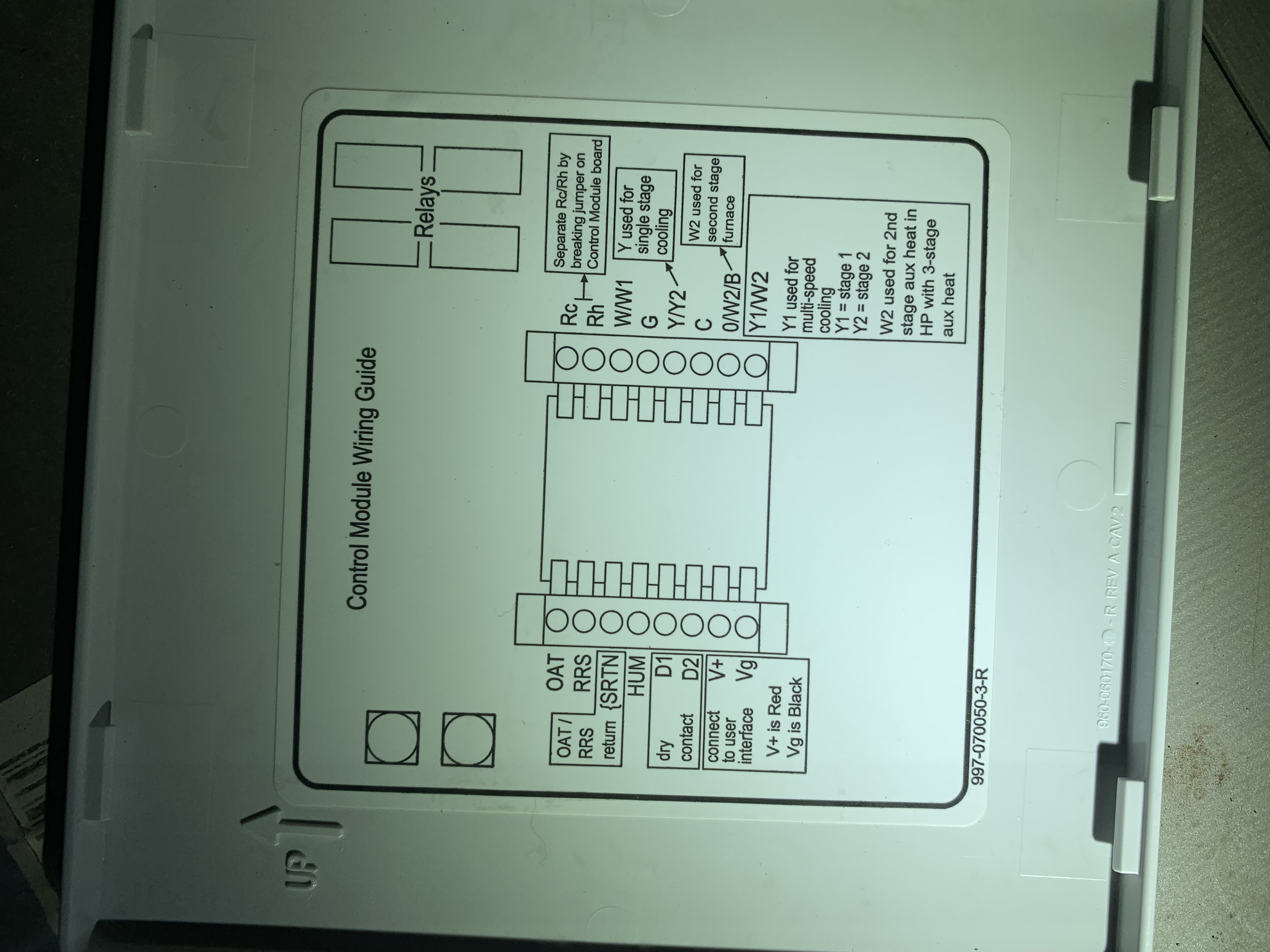Thermostat Wiring For Ac Unit