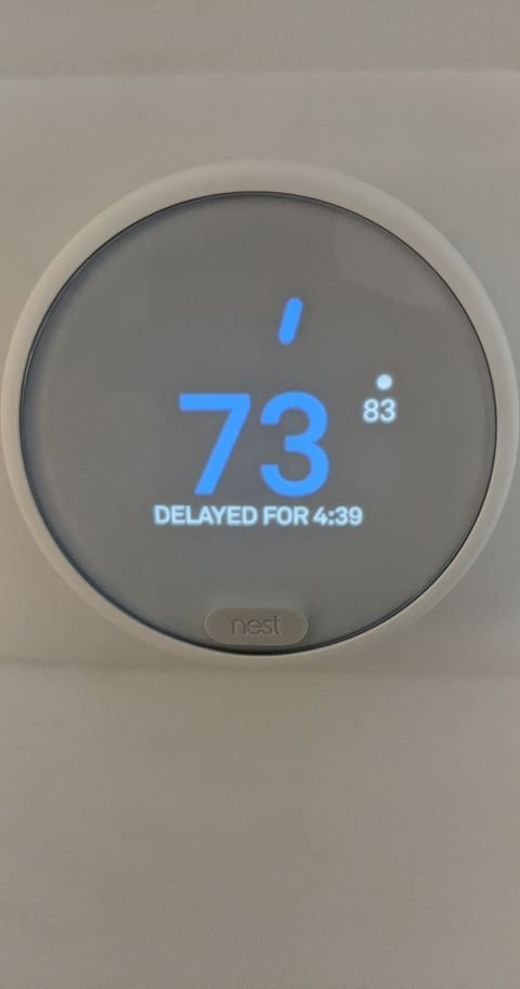 Help With Nest Thermostat E Delay Cycle And Vin Lin Fluctuation Google Nest Community