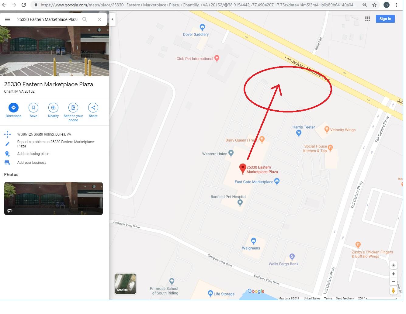 New construction address was wrong. please fix it. - Google ... on culpeper county map, whitestone map, idylwood va map, san diego va map, hamilton va map, fairfax county map, ft a.p. hill map, jefferson va map, baltimore va map, capitol heights va map, random hills va map, tucson va map, charles town va map, woodbridge va map, st. mary's grand lake map, tyson's corner va map, westmoreland state park va map, aquia va map, middle river va map, baileys crossroads va map,