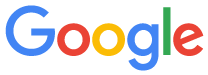 "An example of a company logo, in this case the ""Google"" logo"