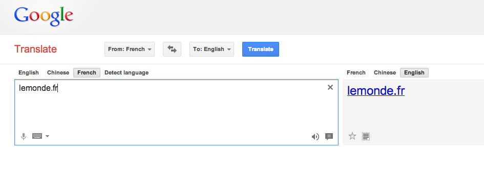 google translate help