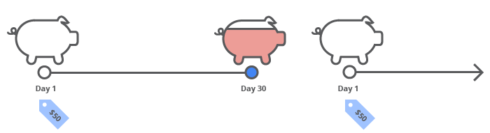 Payment at day 30