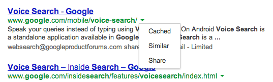 how to search for cached pages google