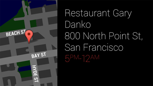 "Glass ""restaurants in San Francisco"" search"