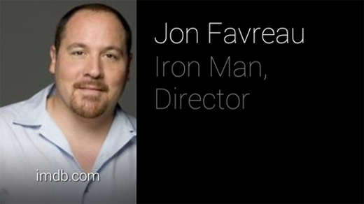 "Glass ""who is the director of Iron Man"" search"