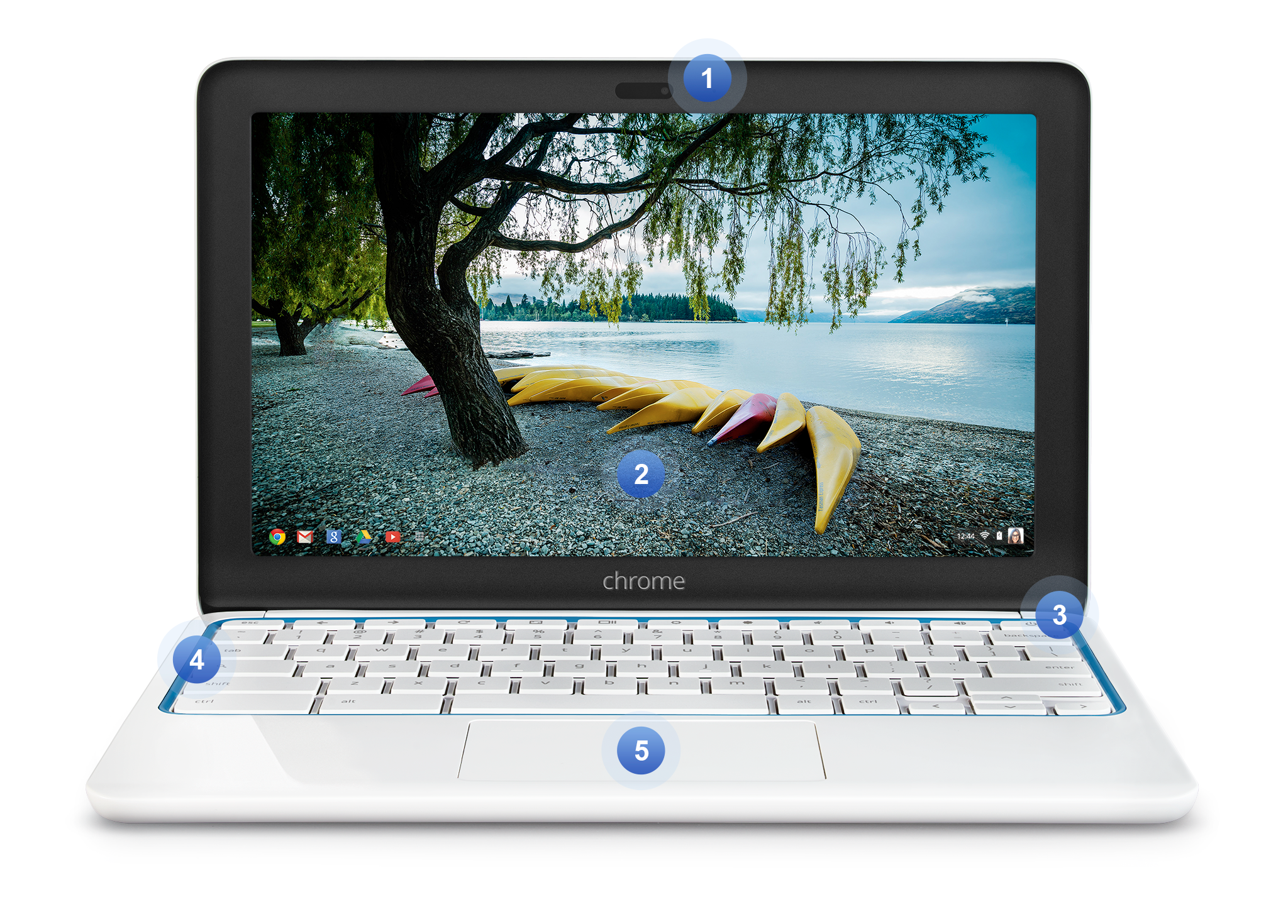 Front Chromebook