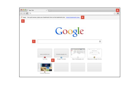 新标签页的google搜索框
