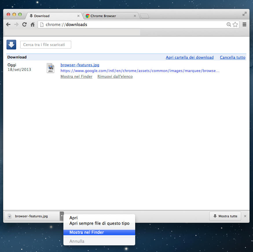 how to find downloads in chrome