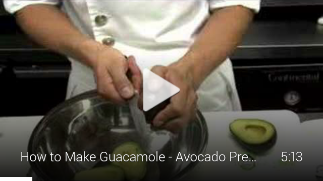 Make guacamole video