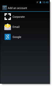 Set up Android SSO for a Google Account step 2