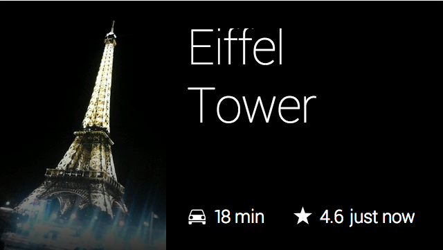 Attractions Eiffel Tower
