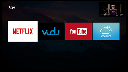 Activate apps on Google Fiber TV Box