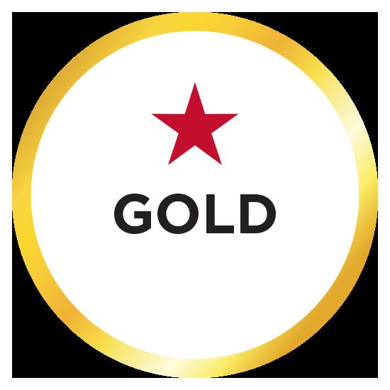 Media Guide Gold badge