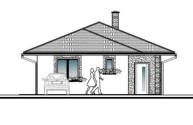 Projekt domu a ohláška