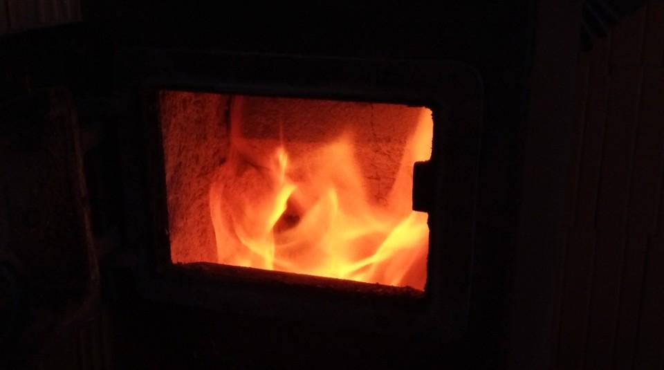 Topení na stavbě v zimě
