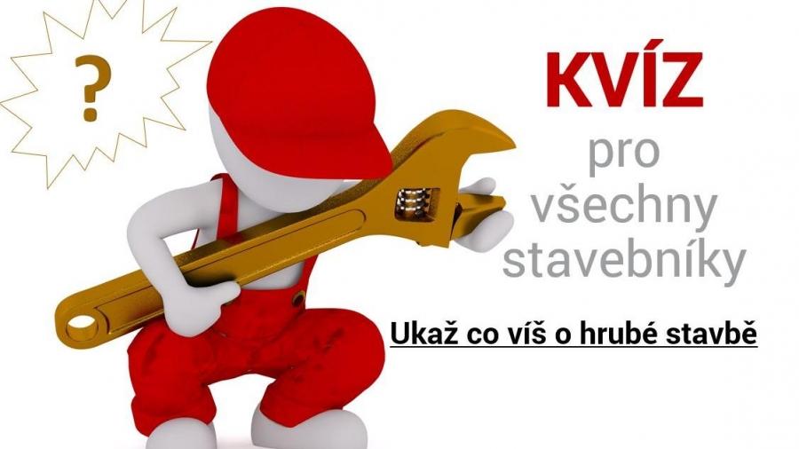 Svépomocí.cz testuje stavebníky v kvízu o hrubé stavbě