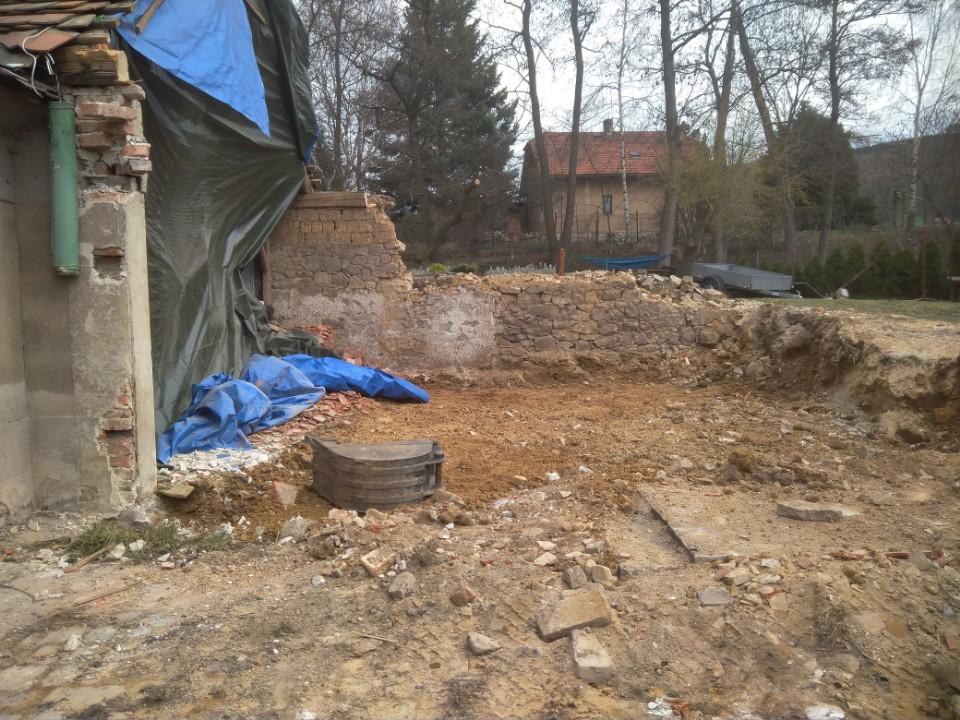 Stavba dílny