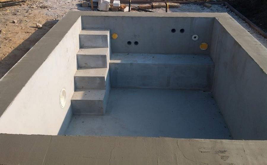 Bazén - hrubá stavba