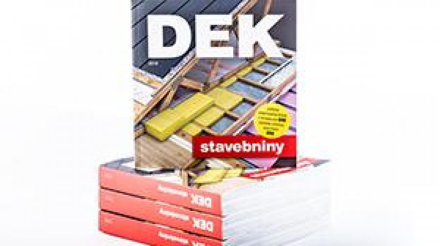 Rozdáváme nové Katalogy Stavebnin DEK 2019