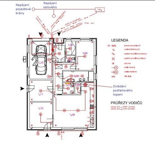 Stavba domu v pandemii - 8. elektrorozvody