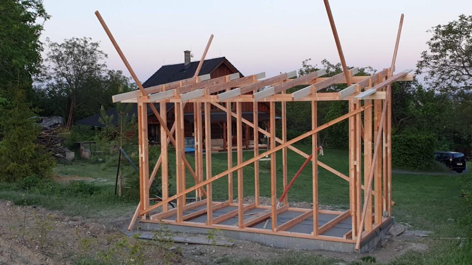 Stavba sauny svépomocí