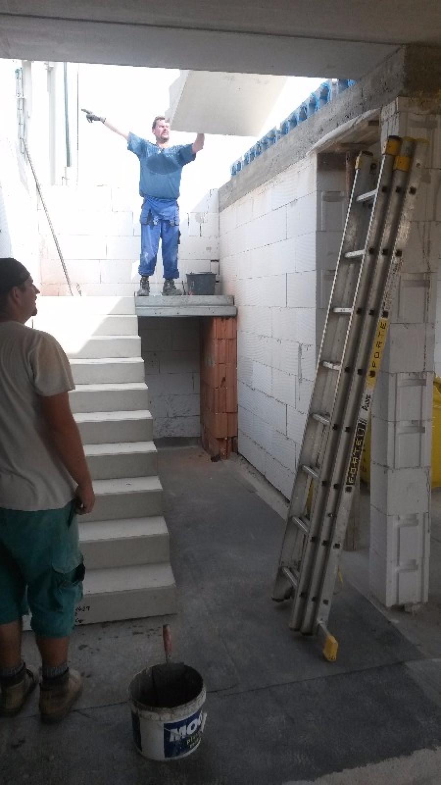 4.ETAPA - Stropy a schodiště