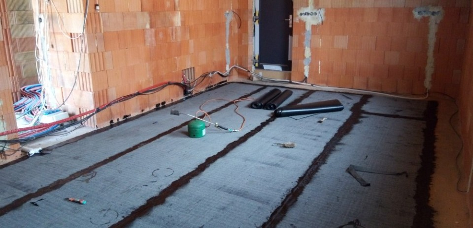 Měření radonu na stavbě a v domě