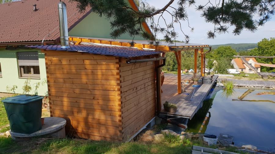 Sauna svépomocí, aneb jak si to udělat doma zase trochu lepší