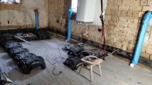 Podlaha - tvarovky Iglu - proti vlhkosti a radonu