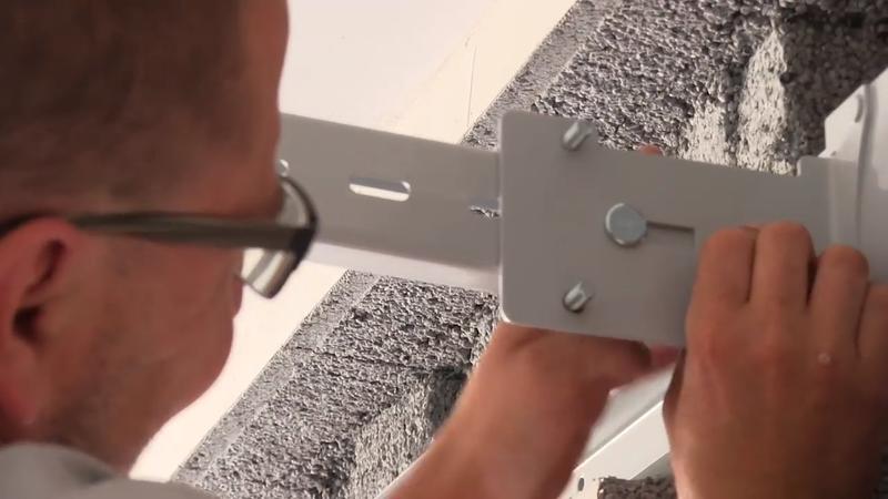 Montáž garážových vrat Lomax
