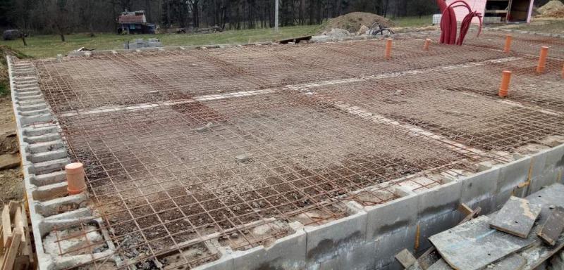 Základy - podkladní beton