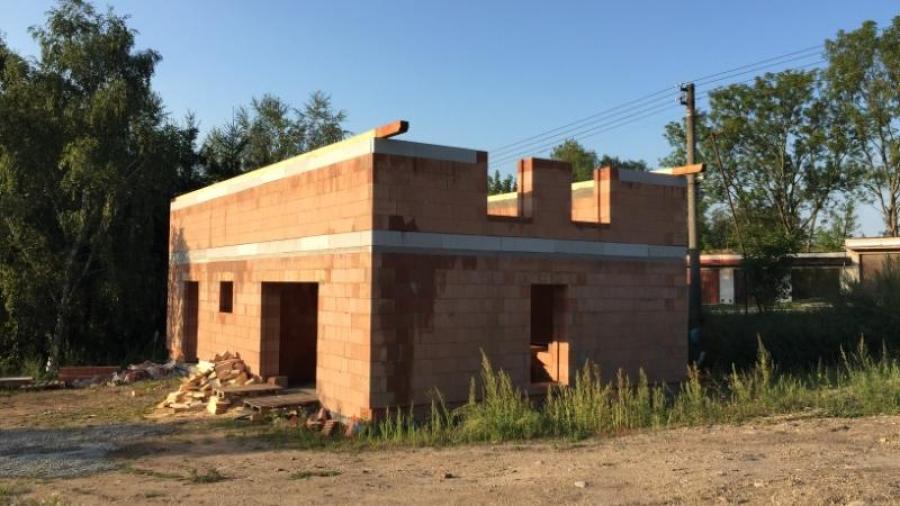 Hrubá stavba - Druhé patro