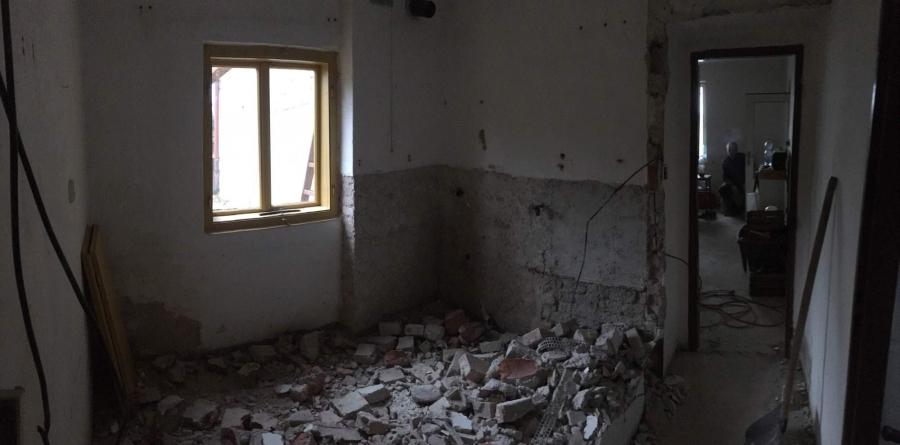 Bourání, úprava příček a podlahy