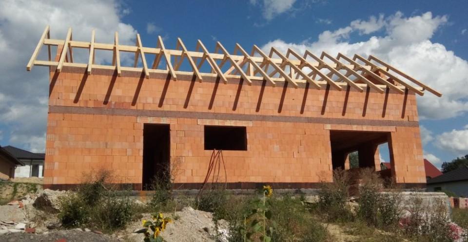 Střecha - krovy