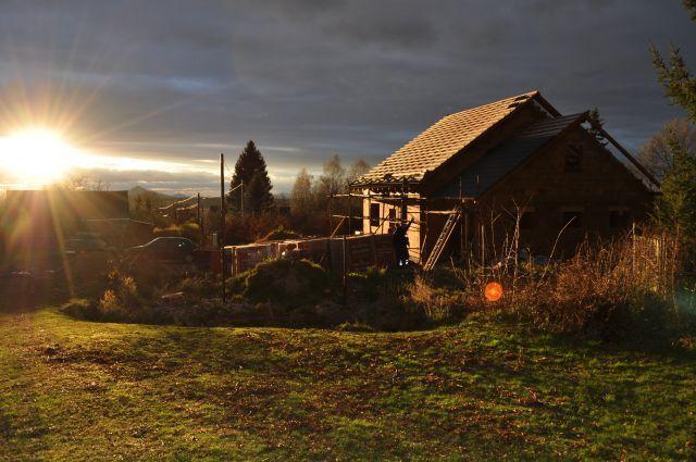 Střecha - dokončení (listopad 2010)