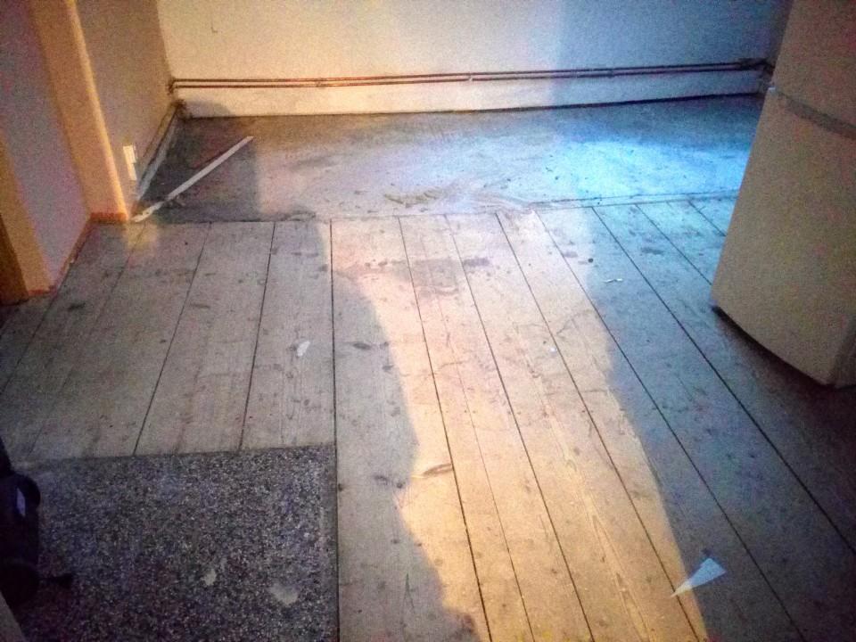 Rekonstrukce podlah 1.patro