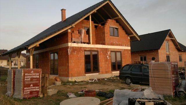 Střecha a komín