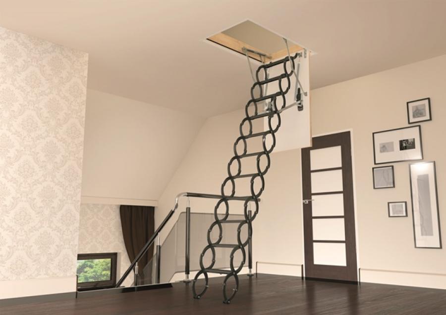 Jaké půdní schody pořídit? Poradíme Vám!