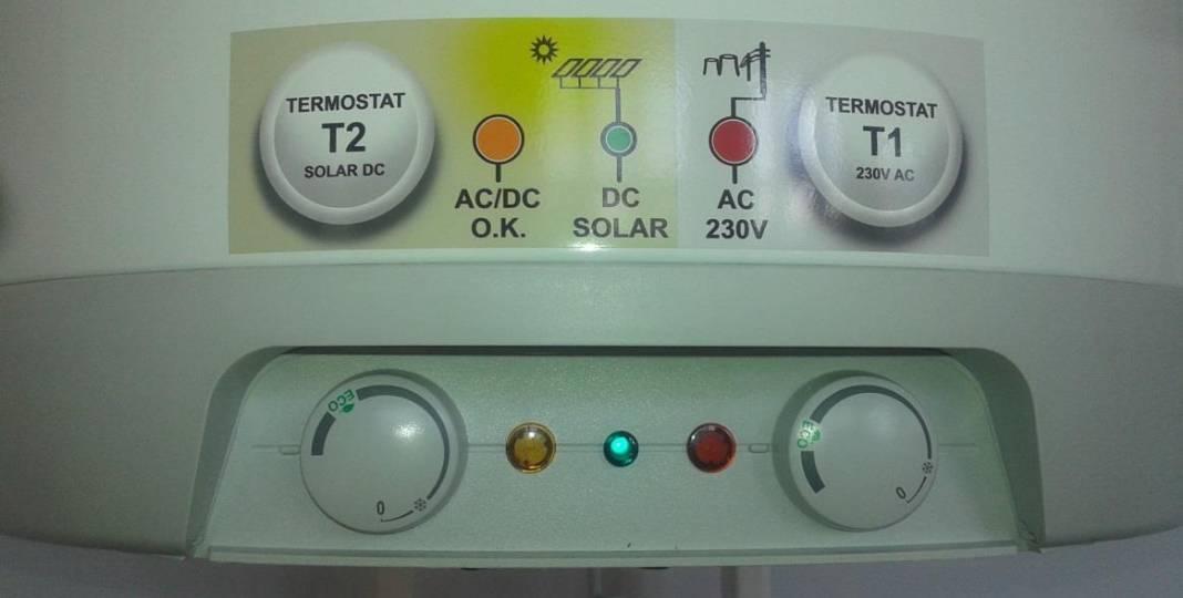Fotovoltaický ohřev vody i přitápění