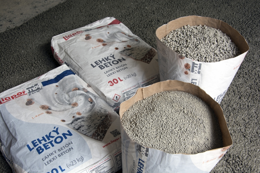 Výhody lehkého betonu při rekonstrukci
