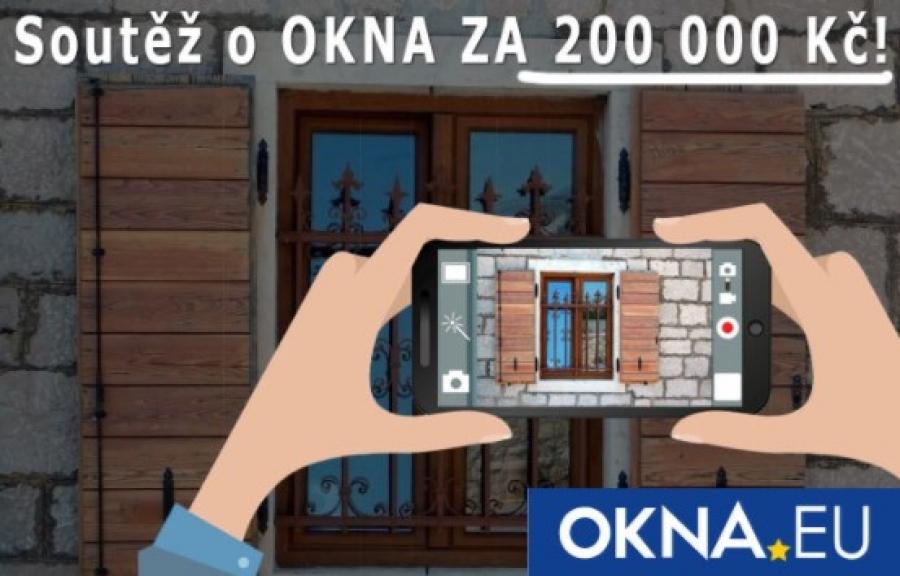 Společnost OKNA.EU pokračuje v úspěšné fotosoutěži o výhry za více než 200 000 Kč