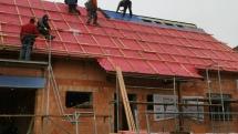 33. stavební týden – Oprava střešní folie, nadkrokevní izolace a úklid před montáží oken