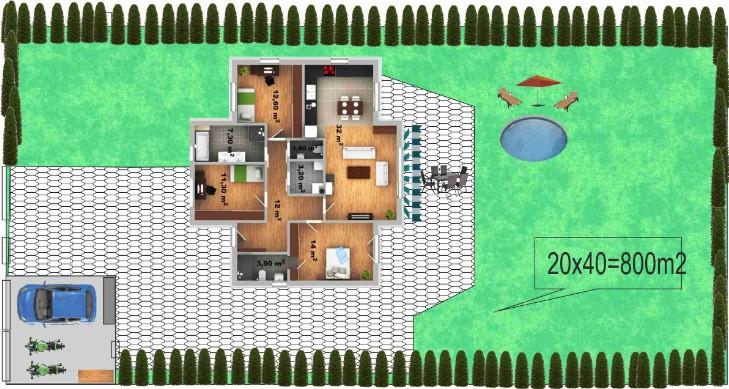 Představa o budoucím domu, jak na to a co lze využít