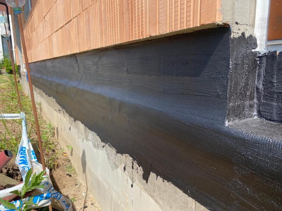 Hydroizolace v místě vstupních dveří